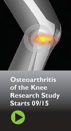 New Osteoarthritis Study